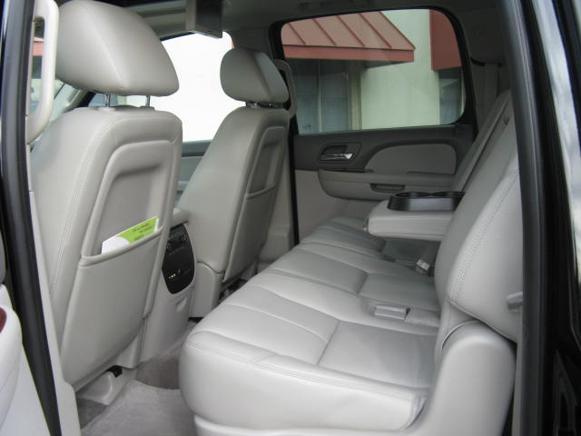box cars limo suburban interior